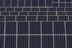 Photovoltaic power plant panels for extracting energy from the sun.
