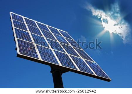 photovoltaic solar power panel