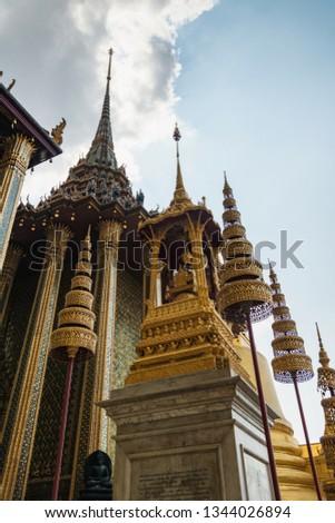 Phra Mondop - Buddhist library building beside Grand palace, Bangkok