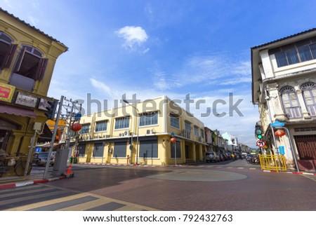 phuket town  thailand  ...