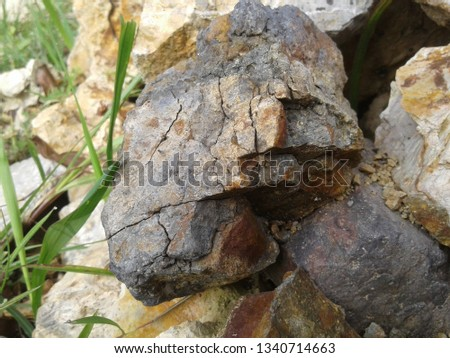 Physical Weathering Stone #1340714663