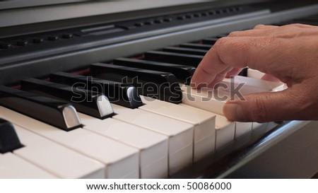 Pianist - stock photo