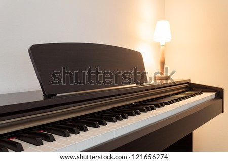 Piano - ambient light