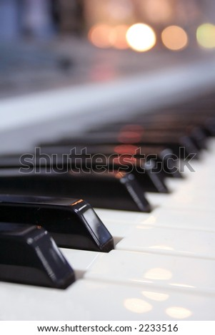 piano buttons