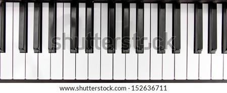 Piano keys  #152636711