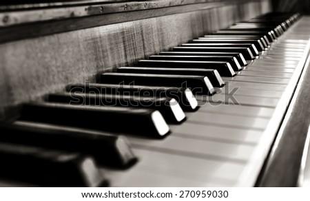 piano keys #270959030