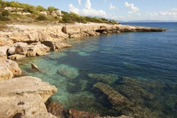 Pianosa Island in the Tuscan Archipelago National Park