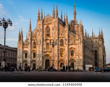 piazza duomo Milano #1149404498