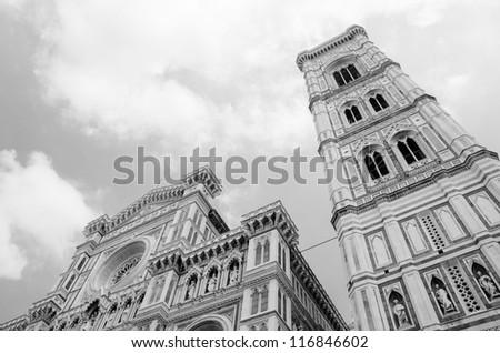 Piazza Duomo - Santa Maria del Fiore in Florence - Duomo Cathedral, Tuscany - Italy