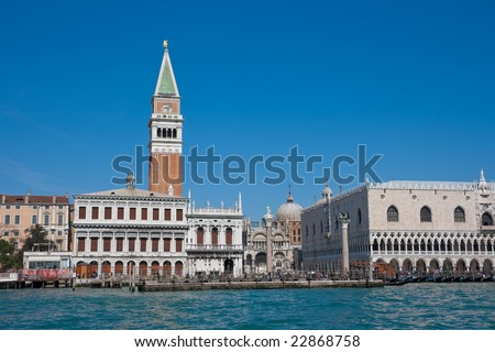 Piazza San Marco and The Doge's Palace, Venice, Italy