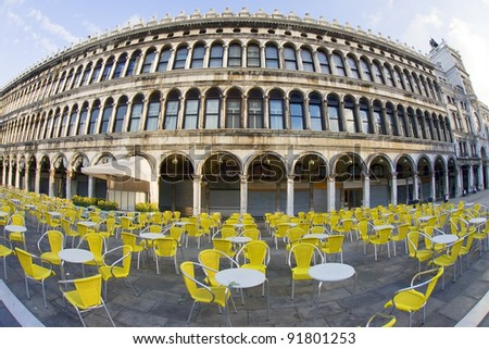 Piazza San Marco at the morning (San Marco square) Venice Italy