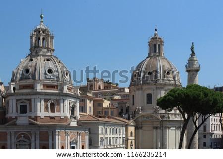 Piazza Venezia Rome Italy #1166235214