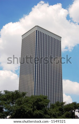 Picasso tower in the sky, modern, Madrid