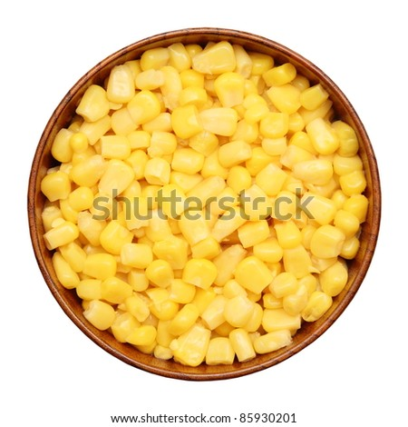 Pickled Corn In A Cup Stock Photo 85930201 : Shutterstock