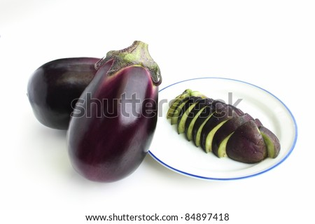 Pickled eggplant