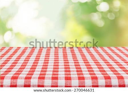 Picnic, kitchen, cloth.