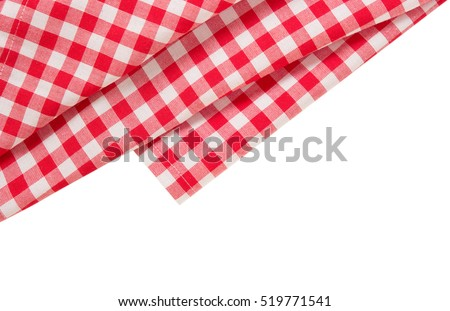 picnic red clothes border...