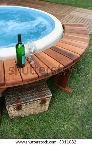 picnic with bath