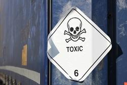 pictogram for chemical hazard: toxic substances