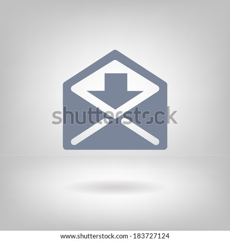 Pictograph of mail