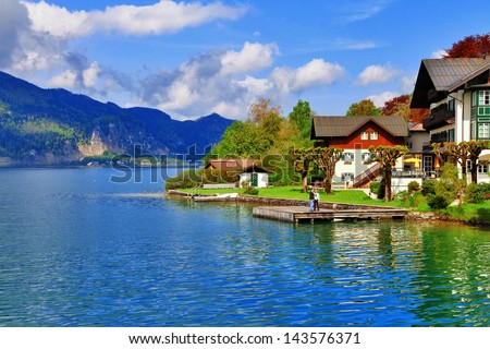 pictorial austrian lakes- st.Wolfgang