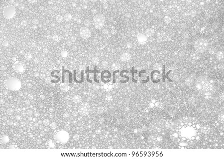 Picture a foam bubble macro background. - stock photo