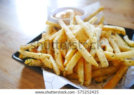 Shutterstock Picture blurred  for background abstract and can be illustration to article of frenchfried