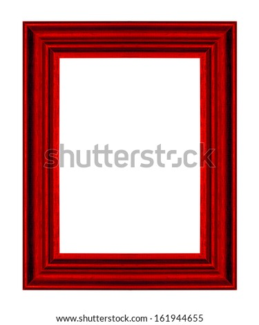 picture frame ancient vintage isolated on white background.