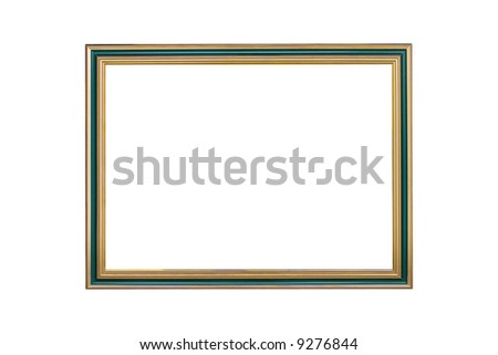 Picture frame, isolated on white