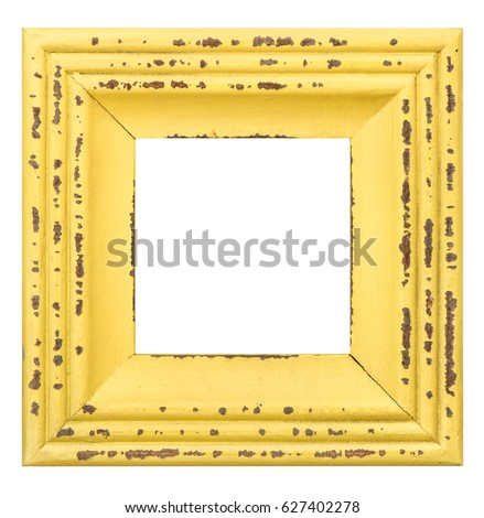 picture frame isolated on white ...