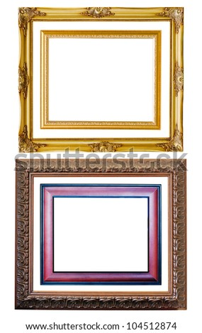 Picture frame to put your own pictures in.