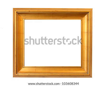 Picture  frame with a decorative pattern