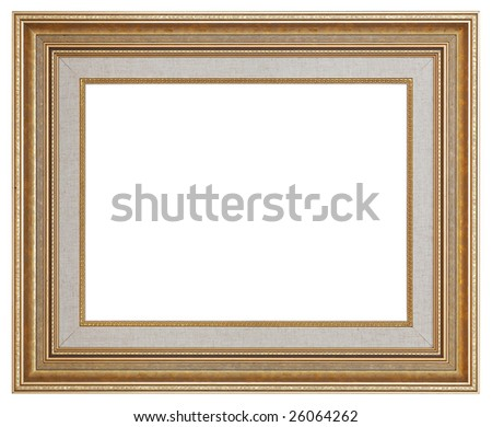 Picture frame with decorative pattern