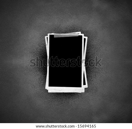 Picture Frames (on leather background)