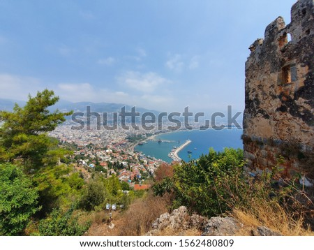 Picture from Kale hill, Alanya
