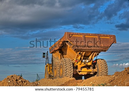 Picture of a large truck
