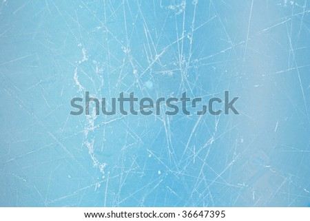 Picture of a scratched plastic texture