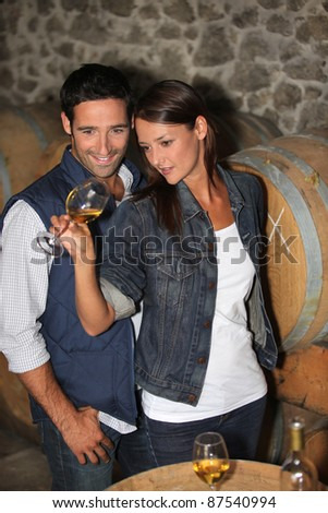 picture of a wine tasting