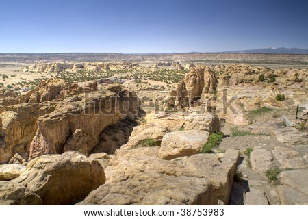 Picture of Acoma Sky City in New Mexico.