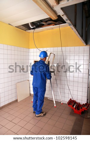 picture of an electrician