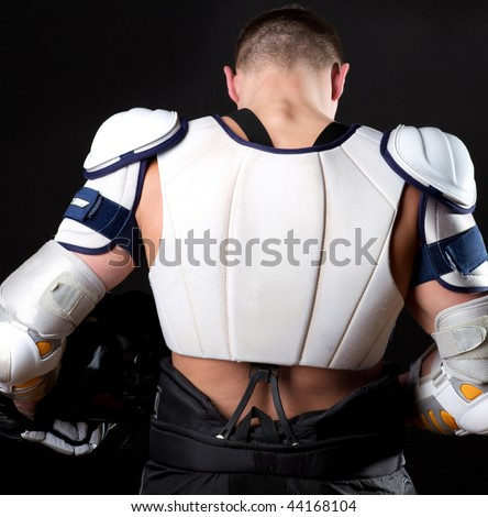 Picture of back of player after his game