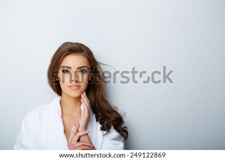 picture of beautiful woman beautiful woman in spa salon - Shutterstock ID 249122869
