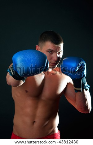 Picture of boxing man