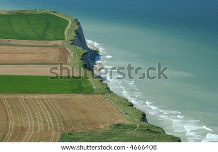 Picture of Cap Blanc Nez, North France - stock photo