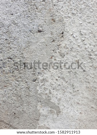 Picture of cement surface and rough surface