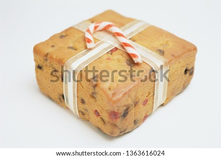 picture of christmas cake