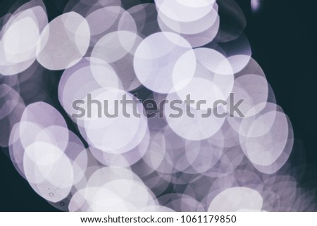 Picture of defocused entertainment concert lighting on stage #1061179850