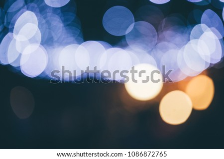 Picture of defocused entertainment concert lighting on stage #1086872765