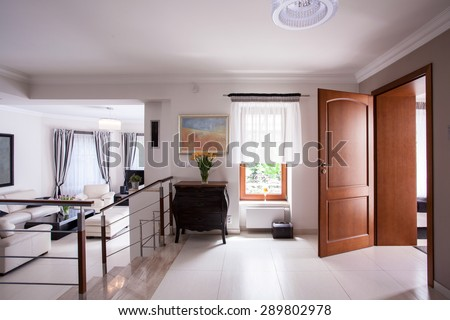 Picture of designed interior in luxury residence #289802978