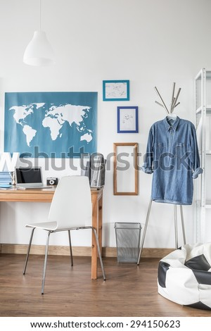 Picture of designed room for young man